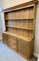 Large Antique Pine Dresser (8 of 16)