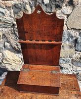 18th Century Oak Spoon Rack & Spoons (2 of 9)