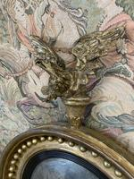 Stunning English Regency Convex Mirror With Eagle (4 of 6)