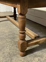 Rustic French Oak 19th Century Farmhouse Kitchen Table (14 of 31)