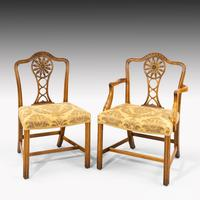 Most Elegant Set of Eight (6+2) Early 20th Century Chippendale Style Mahogany Framed Chairs (11 of 11)