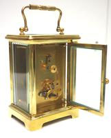 Fine Antique French 8-day Carriage Clock Timepiece by Drew & Sons London (9 of 11)