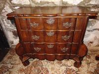 Dutch oak small chest of drawers. 18th century
