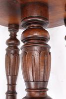 Antique Victorian Revolving Adjustable Piano Stool (12 of 13)