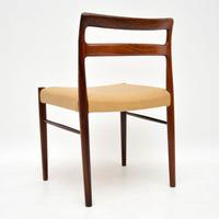 Set of 6 Danish Rosewood & Leather Dining Chairs by Soren Willasden (5 of 12)