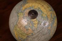 English Globe With Its Wooden Base - Early 20th Century (7 of 7)