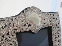 Unusual Victorian Double Photo Frame with Two Empty Cartouche (2 of 6)