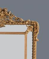 Large  French Gilt Overmantle Mirror (9 of 11)