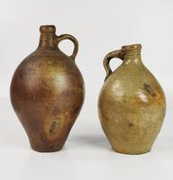 Two Late 17th - Early 18th Century Bellarmines. (7 of 9)