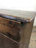 Early 18th Century Six Plank Oak Coffer (10 of 20)