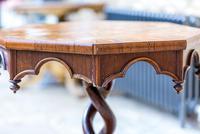 Victorian Oak Octagonal Table (3 of 15)