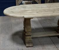 Huge French Bleached Oak Monastery Dining Table (6 of 30)