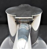 Christopher Dresser for Hukin & Heath, Silver Plate & Glass Claret Jug c.1880 (3 of 8)