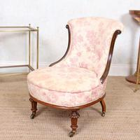 Tub Chair Carved Mahogany 19th Century (8 of 10)