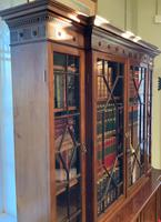 Late Victorian Mahogany 4 Door Library Bookcase (9 of 13)