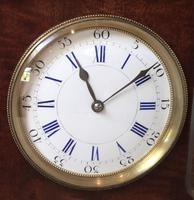 Small Mahogany 18th Century Style Bracket Clock (10 of 11)