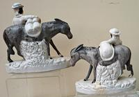 Pair of Victorian Staffordshire Figures - Sand & Beesums (12 of 12)