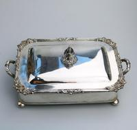 Scarce Regency Silver Old Sheffield Plate Cheese / Bacon Dish c.1820 (3 of 11)