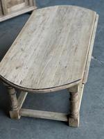 Bleached Oak Drop Flap Coffee Table (5 of 17)