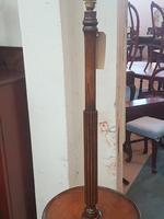 Edwardian Oak Lamp (3 of 5)