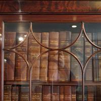 Edwardian Mahogany Library Bookcase (2 of 20)