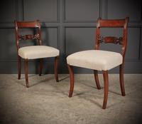 Set of 8 Regency Mahogany Dining Chairs (4 of 20)