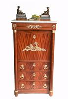 French Empire Cocktail Cabinet Drinks Chest c.1920