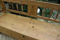Lovely Old Victorian Hungarian Box/ Storage/ Hall Bench (4 of 12)