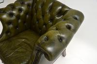 Antique Georgian Style Leather Armchair (7 of 10)