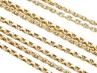 9ct Yellow Gold Longuard Chain - Antique c.1890 (2 of 12)