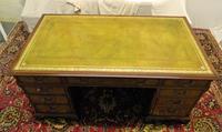 Mahogany Pedestal Desk (4 of 6)