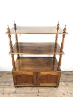 19th Century Mahogany Buffet with Cupboard Base (12 of 18)