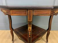 Inlaid Rosewood Table by James Shoolbred (4 of 11)