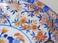Good Antique Japanese Imari Meiji Charger (5 of 8)