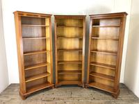 Three Yew Wood Reproduction Bookcases (7 of 9)