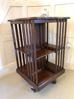 Antique Edwardian  Revolving Bookcase