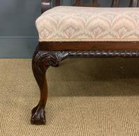 Mahogany Chippendale Style Triple Chair Back Settee (11 of 18)