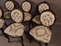 Fantastic Set of 6 Victorian Walnut Dining Chairs (2 of 14)