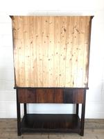 Antique Early 20th Century Oak Pot Board Dresser (7 of 14)