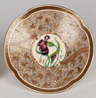 Zsolnay Pecs Hungarian Hand Painted Floral Cabinet Cup & Saucer c.1890 (15 of 16)