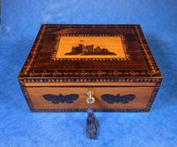 William IV Early Mosaic Tunbridge Ware Table Box (5 of 20)