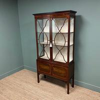 Spectacular Edwardian Chippendale Design Antique Display Cabinet (8 of 9)
