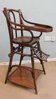 Antique Metamorphic Childs High Chair (4 of 10)