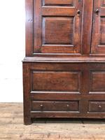 Large Antique 18th Century Welsh Oak Press Cupboard (M-808) (7 of 18)