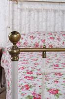 Beautiful Victorian King Size Half Tester Bed (11 of 11)