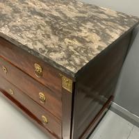 French Empire Commode with Gilt Lions Paw Feet (10 of 10)