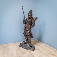 Japanese Bronze Figure (6 of 10)