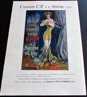 1910 Rare French Journal.  Numerous Adverts, Folio Sized Colour Plates