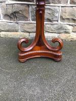 Mahogany Pedestal Wine Table (2 of 5)