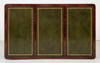 Large Victorian Mahogany Writing Table (10 of 10)